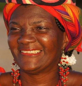 Photos of Cartagena. Palenquera Fruit Seller