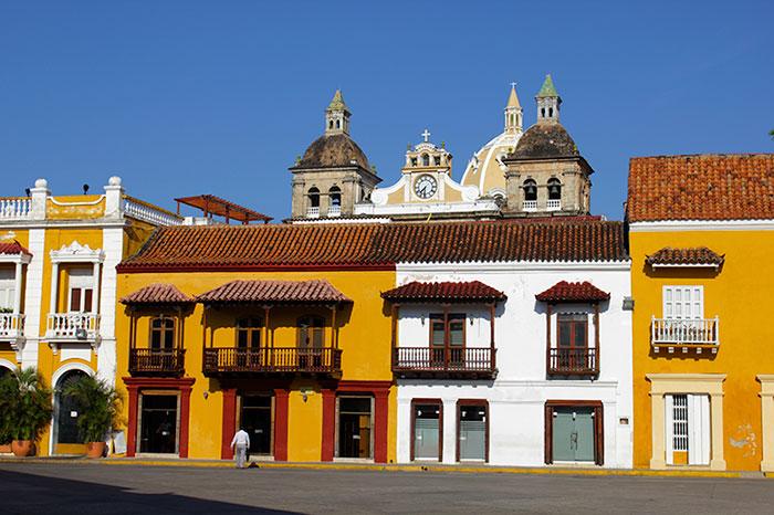 Cristobal Colon Plaza Cartagena