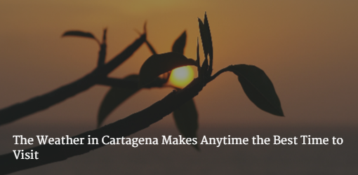 Weather in Cartagena