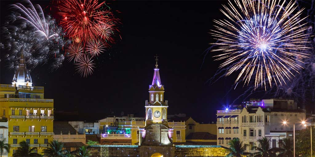 New Year Cartagena Colombia