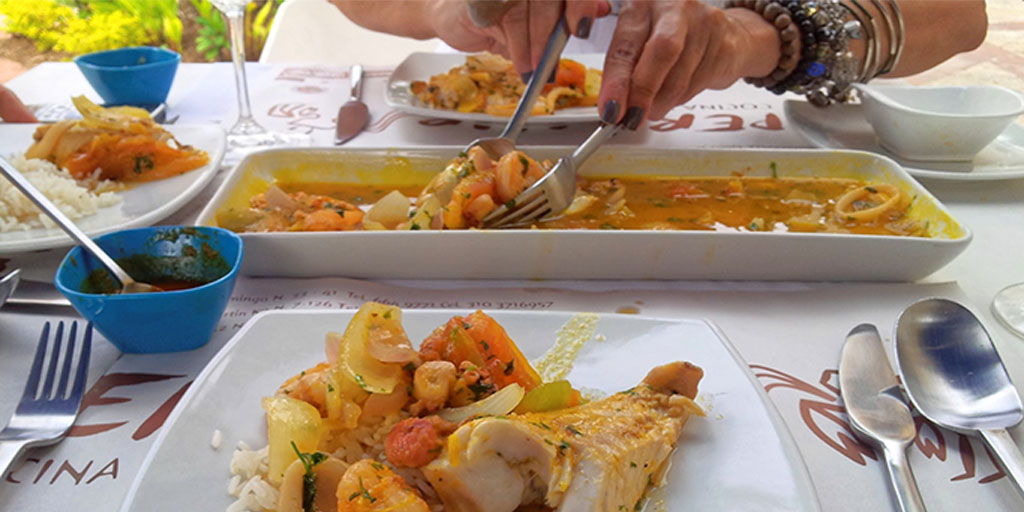 Fish Dish from Colombia