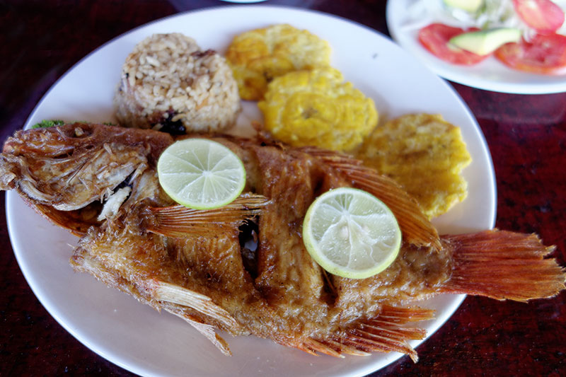 Fried Snapper