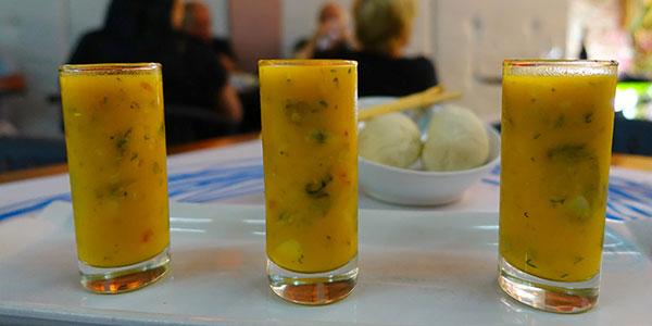 Appertizers-at-La-Perla-Restaurant-Cartagena