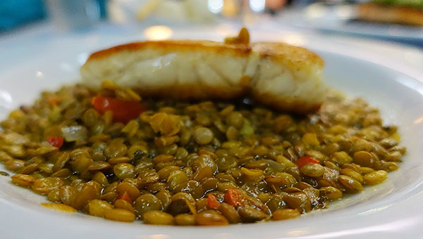 Chickpea and Fish