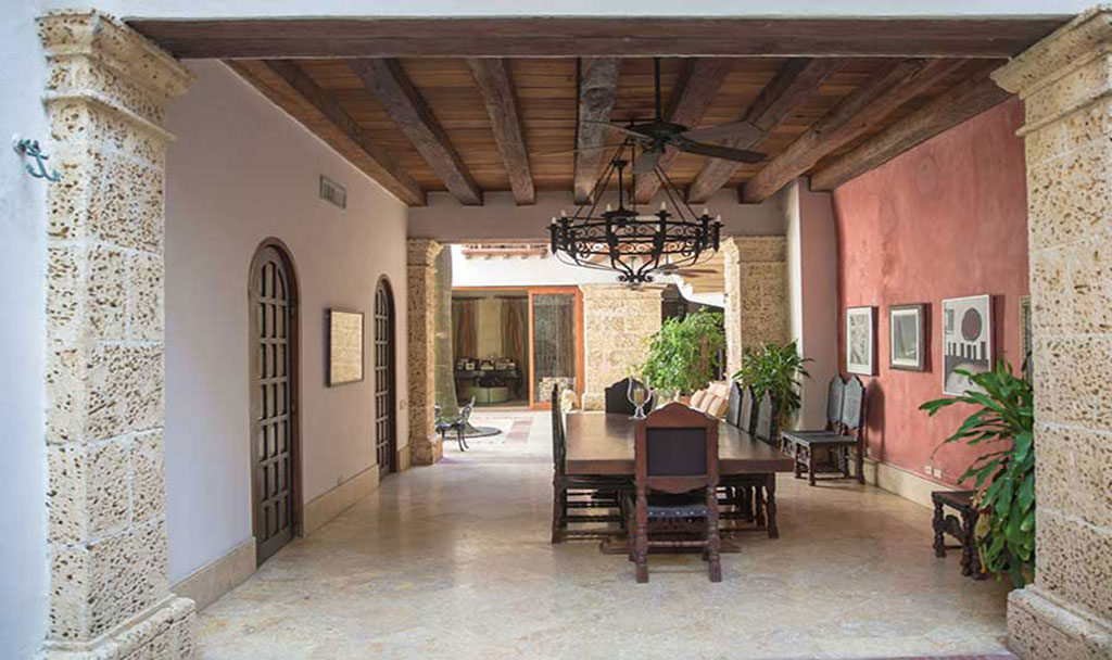 Luxury Home Rental Cartagena Casa Schumacher