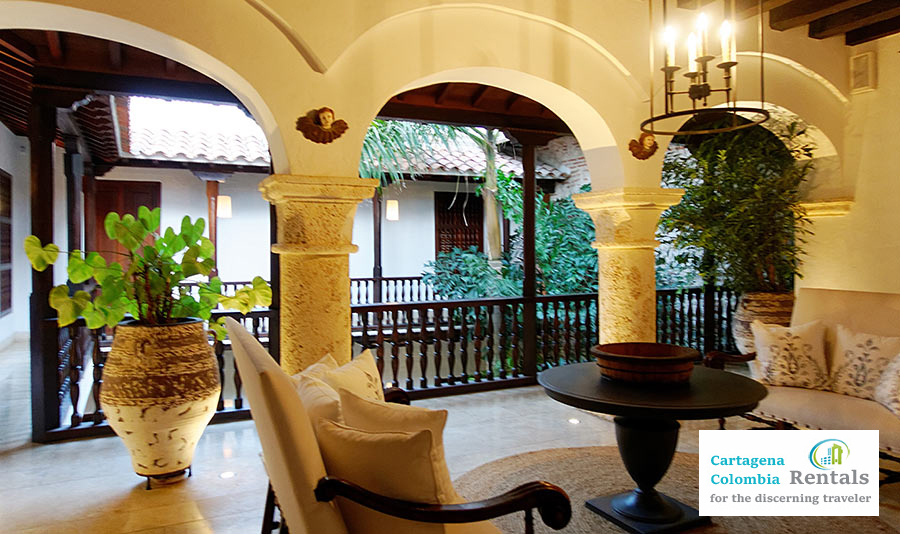 Luxury Home Rental in Cartagena - Casa Arte