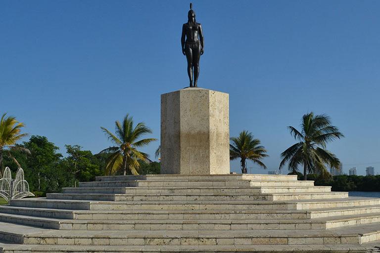 India Catalina Statue