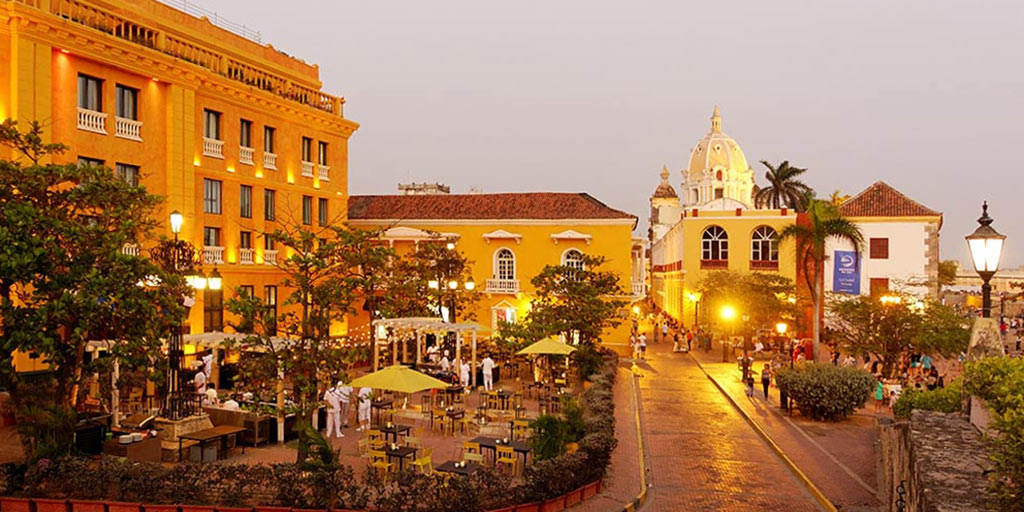 Plaza de Santa Teresa in Cartagena