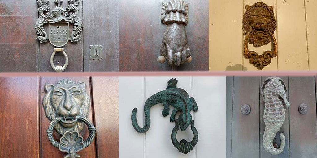 head downing knocker product knockers street lion door