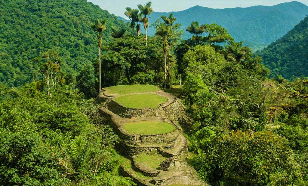 Helicopter tours to Ciudad Perdida