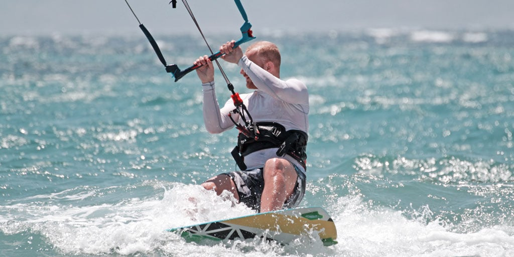 Kite Surfing and Paddleboarding