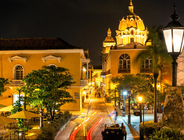 Christmas in Cartagena Colombia 2019