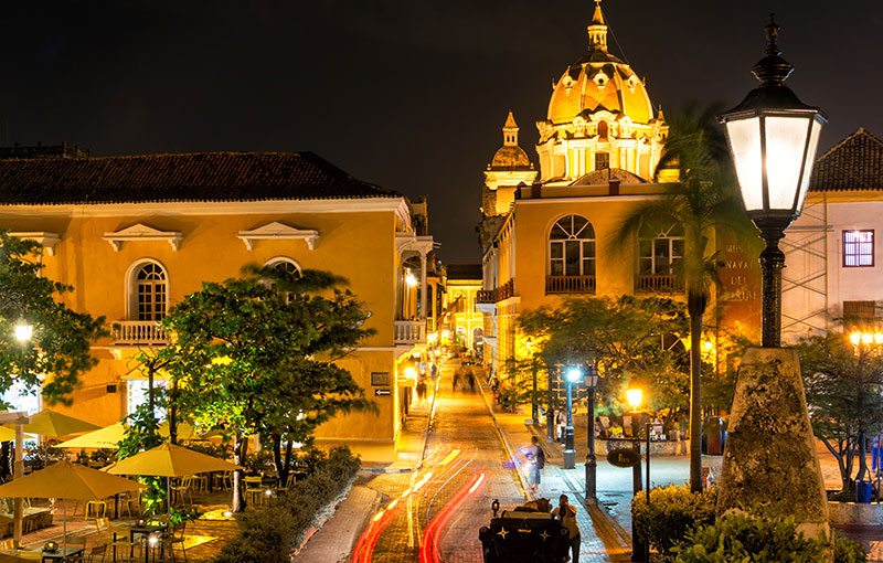Christmas in Cartagena Colombia
