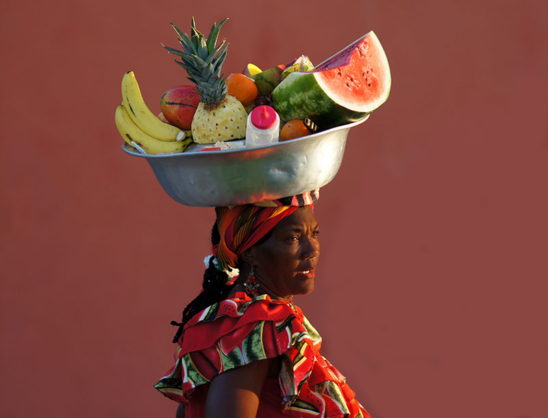 History of Palenquera Fruit Sellers