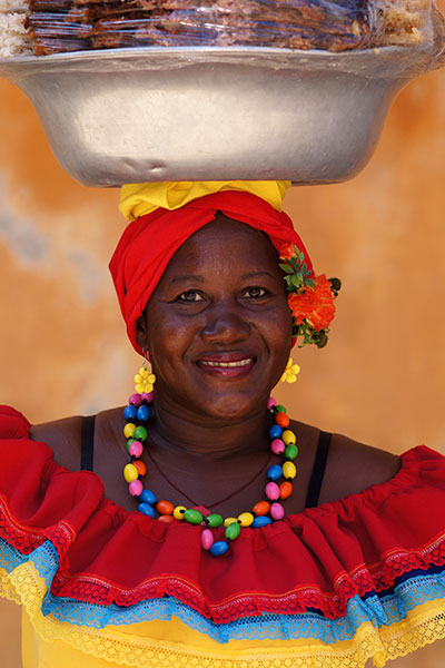 Palenquera Fruit Seller