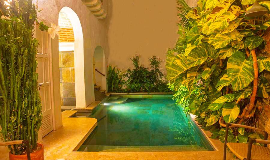 Casa La Palmera Inner Pool