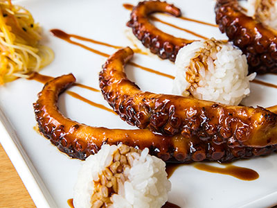 Hoisin Octopus