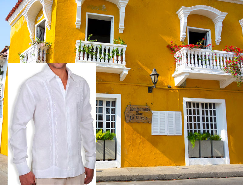 Guayabera Shirts for Evenings in Cartagena