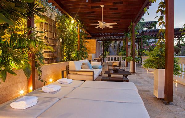 Cartagena Home Roof Garden
