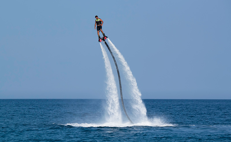 About flyboarding in Cartagena