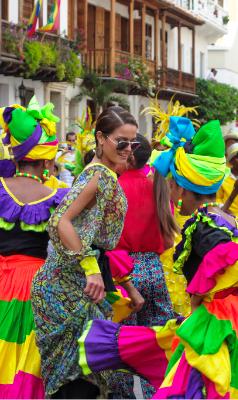 Carnival in Cartagena